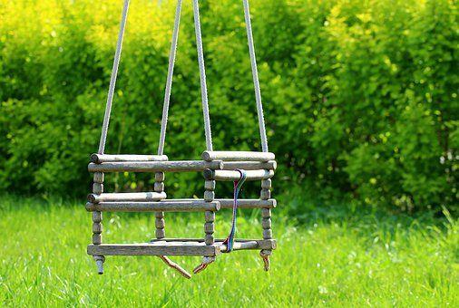 Zabawa i wypoczynek w ogrodzie