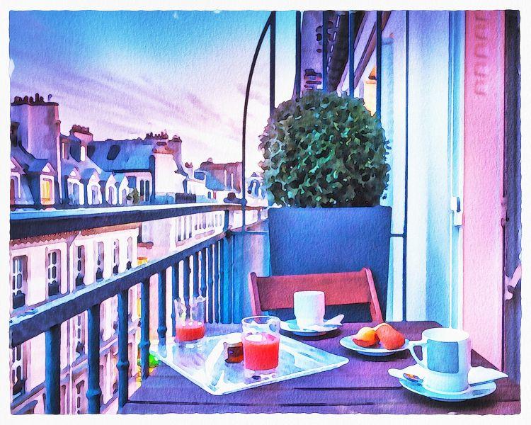 4 wskazówki dotyczące przytulnego balkonu lub tarasu