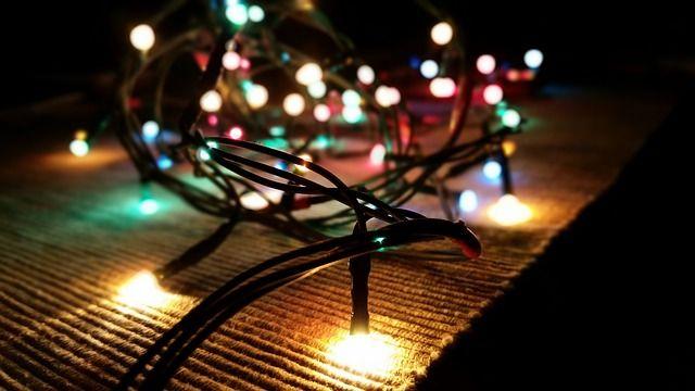 Świąteczne lampki we wrześniu? Czemu nie?