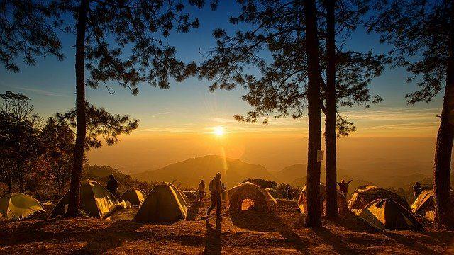 Czy obozowiska pękają w szwach? Spróbuj spać pod gołym niebem