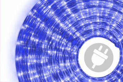 Wąż świetlny ogrodowy 20 m niebieski - 720 mini żarówek