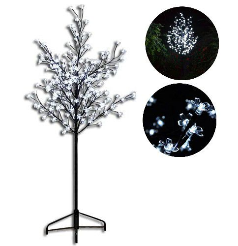 Drzewko z kwiatkami LED 1,5 m