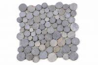 Mozaika kamienna z andezytu Garth na siatce szara 1 m2