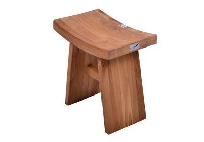 Taboret z drewna tekowego DIVERO