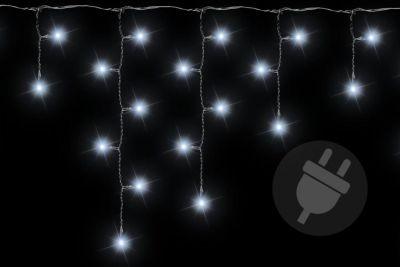 Świąteczny świetlny deszcz - 2,7 m, 72 LED, zimna biel