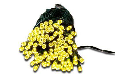 Łańcuch świetlny ogrodowy solarny Garth 100 diod LED ciepło-biała.