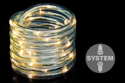 Diled kabel oświetleniowy - 40 LED ciepły biały