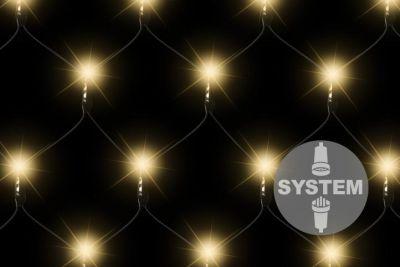 diLED świetlna sieć - 100 LED, biała ciepła