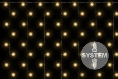Diled firanka świecąca - 200 LED ciepły biały