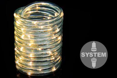Diled kabel oświetleniowy - 60 LED ciepły biały