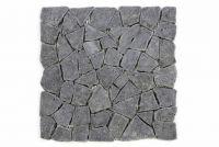 Mozaika Garth kamienna brukowa z andezytu ciemno szara