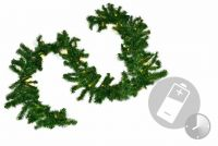 Girlanda świąteczna 35 diod LED - Łańcuch świerk 2,70 m