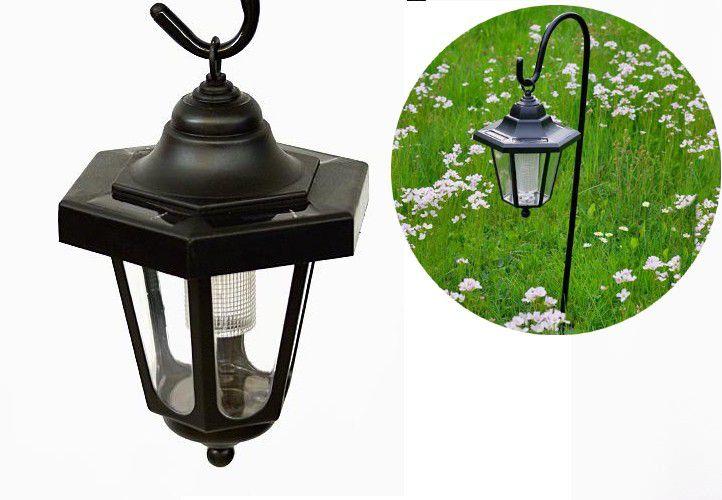 Lampa solarna dekoracyjna ogrodowa, mini latarnia LED