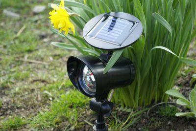 Reflektor solarny ogrodowy Garth 3 x LED dioda