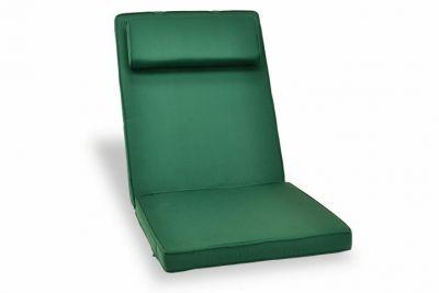 Poduszka Garth na krzesło zielona
