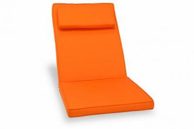 Poduszka Garth na krzesło pomarańczowa