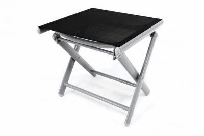 Aluminiowe krzesełko ogrodowe - składane