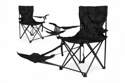 Zestaw 2 szt. Składanego krzesła Garth