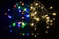 Świąteczny świetlny łańcuch - 9,9 m,100 diod LED, 9 funkcji
