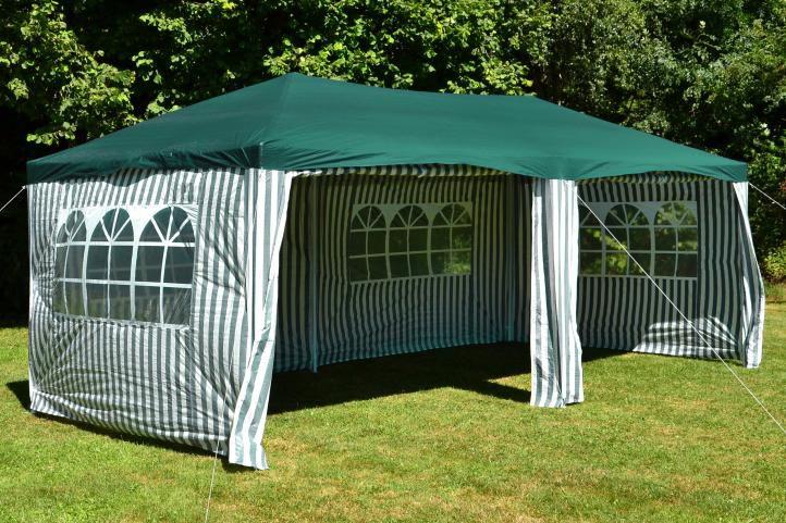 Pawilon ogrodowy 3 x 6 m zielony
