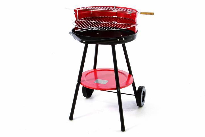 Grill z rusztem - Grill na kółkach - BBQ
