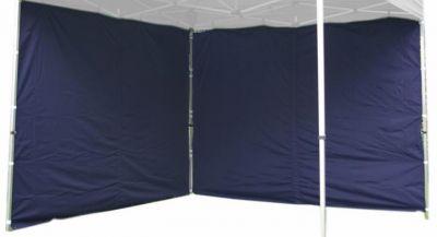 Komplet dwóch ścian do pawilonu PROFI 3 x 3 m - niebieski