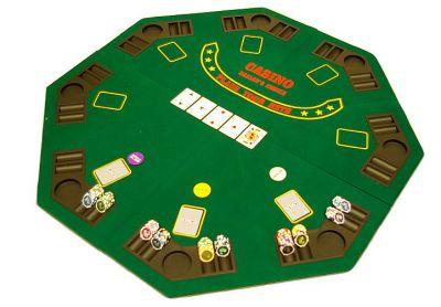 Blat do pokera ośmiokąt składany