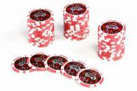 Żetony pokerowe Ocean 50 szt. z nominałem 5