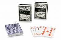 Zestaw 2 szt Poker kart No92 100% PLASTIK