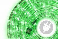 LED świetlny kabel - 480 diod, 20 m, zielony