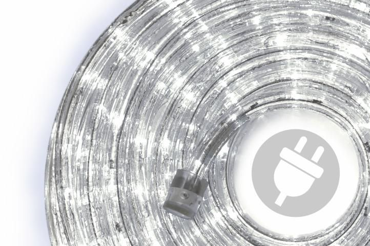 Wąż świetlny 20 m zimny biały - 480 x LED dioda