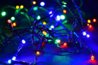 Kolorowe lampki choinkowe 200 LED - 20m