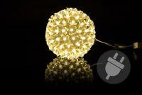 Świąteczna dekoracja - LED kule , 12 cm
