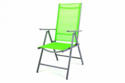Krzesło rozkładane ogrodowe zielone