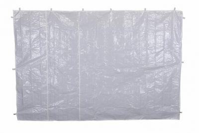Komplet dwóch ścian bez okien do pawilonu 3 x 3 m - biały