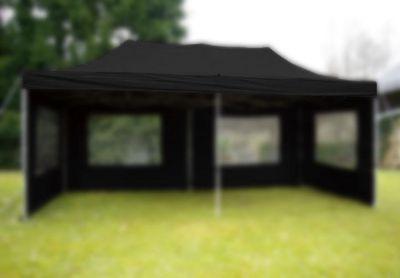 Dach do namiotu pawilonu 3 x 6 m - czarny