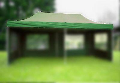 Zastępczy dach do składanego pawilonu 3 x 6 m - zielony