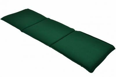 Poduszka trzyosobowa na ławkę ogrodową - zielona