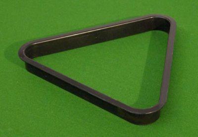 Trójkąt plastikowy czarny 57,2 mm