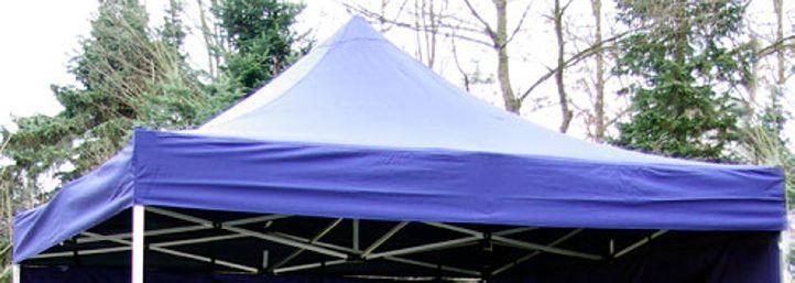 Zastępczy dach do składanego pawilonu PROFI 3 x 3 m - niebieski