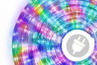 LED świetlny kabel - 240 diod, 10 m, kolorowy