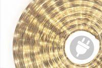 Świetlny Kabel - 1800 mini lamp, 50 m, ciepła biel