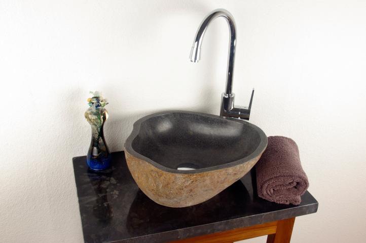 Umywalka nablatowa Neapol DIVERO - kamienna