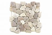 Mozaika kamienna - Kremowa mozaika matowa