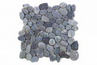 Mozaika z naturalnych kamieni ozdobnych Garth na siatce szara 1 m2