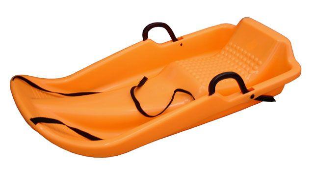 Olimpijski plastikowy bob - pomarańczowy
