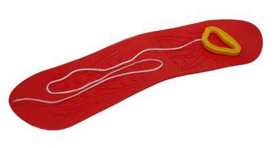 Snowboard dziecięcy plastikowe - czerwone