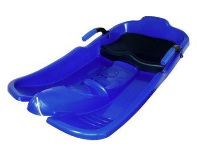 Plastikowy ślizg Superjet - niebieski