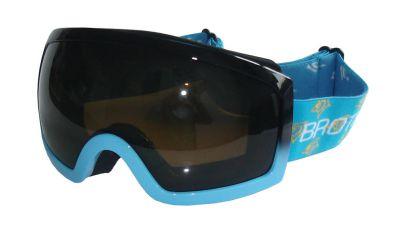 Gogle narciarskie BROTHER dla dorosłych - niebieskie