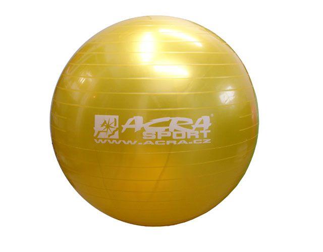 Piłka gimnastyczna (gymball) 900 mm żółta